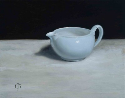 Pale Blue Jug