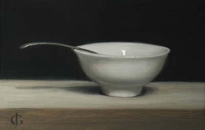 Porcelain Bowl & Spoon (reprise)