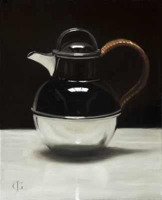 Art Deco Silver Coffee Pot
